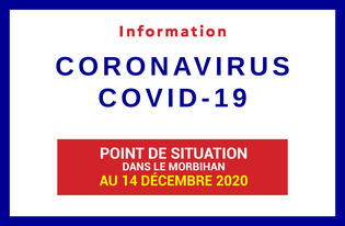 Point de situation du coronavirus en Bretagne au 14 décembre 2020