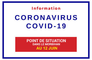 Point de situation sur le Coronavirus en Bretagne au 12 juin