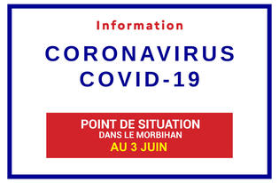 Point de situation sur le Coronavirus en Bretagne au 3 juin