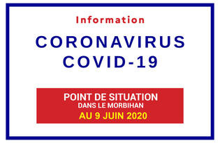 Point de situation sur le Coronavirus en Bretagne au 9 juin