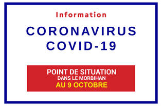 Point de situation sur le Coronavirus en Bretagne au 9 octobre 2020