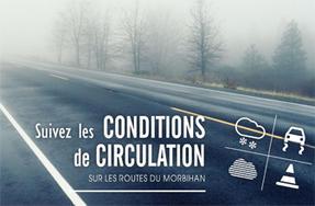 conditions de circulation sur les routes du morbihan transports et circulation transports. Black Bedroom Furniture Sets. Home Design Ideas