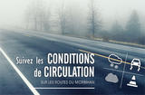 Conditions de circulation sur les routes du Morbihan